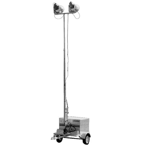 Portable Light Towers For Rent: Light Tower W/O Generator