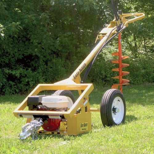 Post Hole Digger One Man Rentals Unlimited