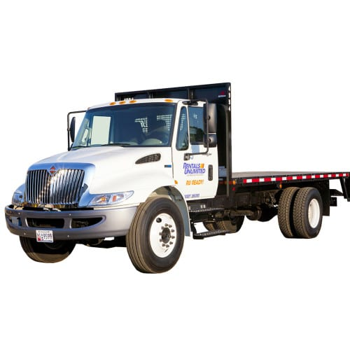 Truck 18 Flat Bed W Lift Gate Rentals Unlimited
